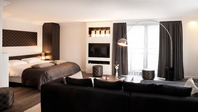 Executive Suite Gris TheaterHotel De Oranjerie